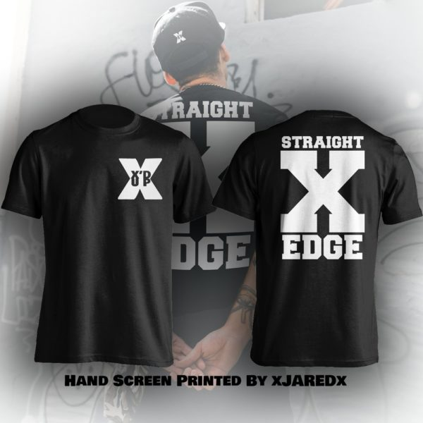 XdUp Straight X Edge T-shirt